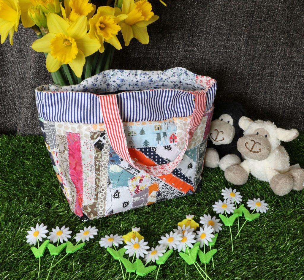 Tote bag - small patchwork