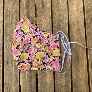 Floral silk, shaped